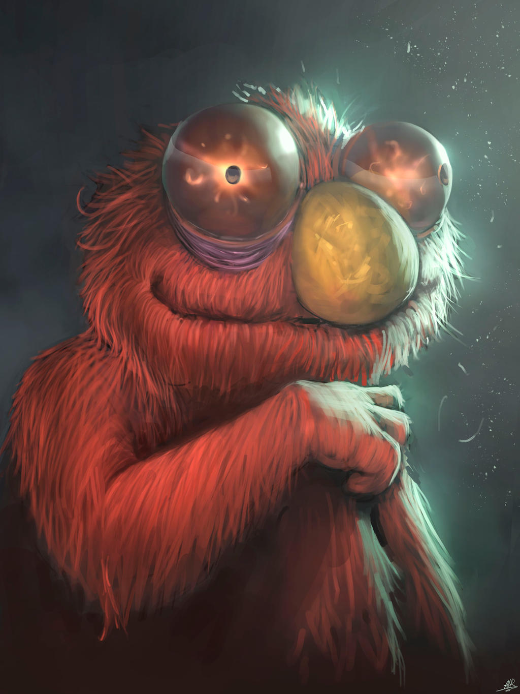 Elmo by XxADRxX on DeviantArt