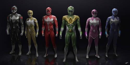 Power Rangers Redesign