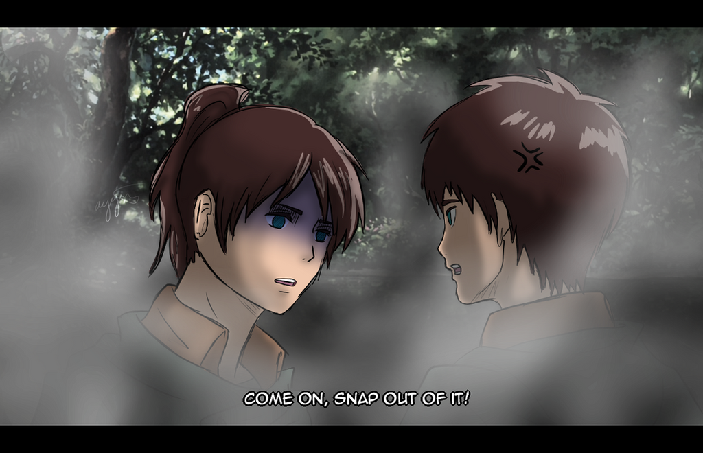 Eren and Ayame :Request by TripleTea