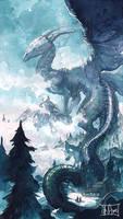 Dragonne Sleeva Watercolors