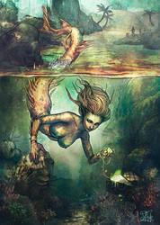 Mermaid by Morgan-chane