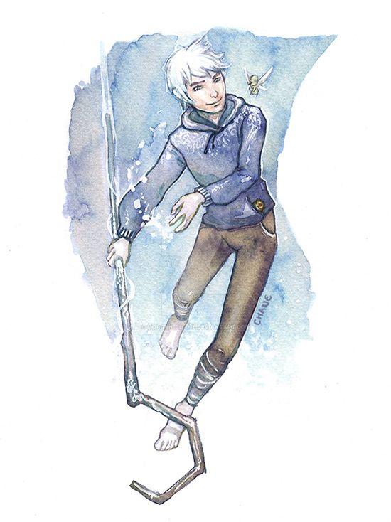 Jack Frost Watercolors by Morgan-chane