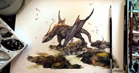 Armande, lake's dragon