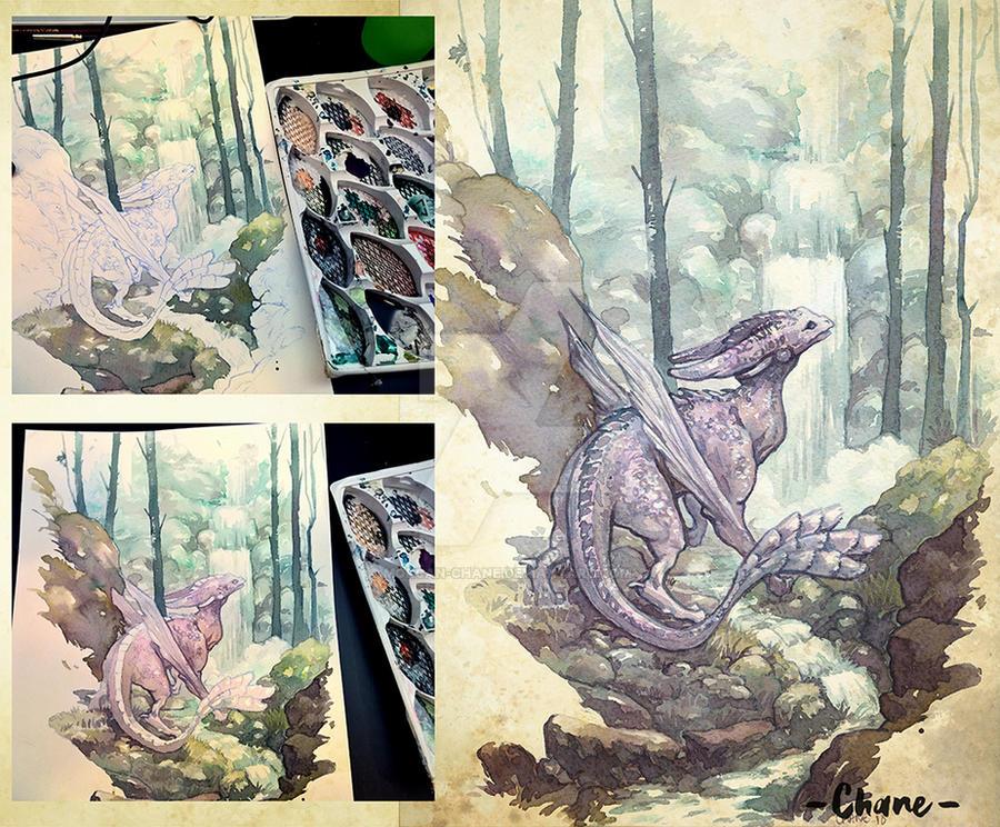 Dragon by Morgan-chane