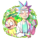 Rick and Morty Fanart
