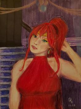 Her Beauty Still Shines - Pyrrha Nikos of RWBY