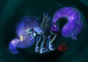 Request: Nightmare Moon by RyuRedwings