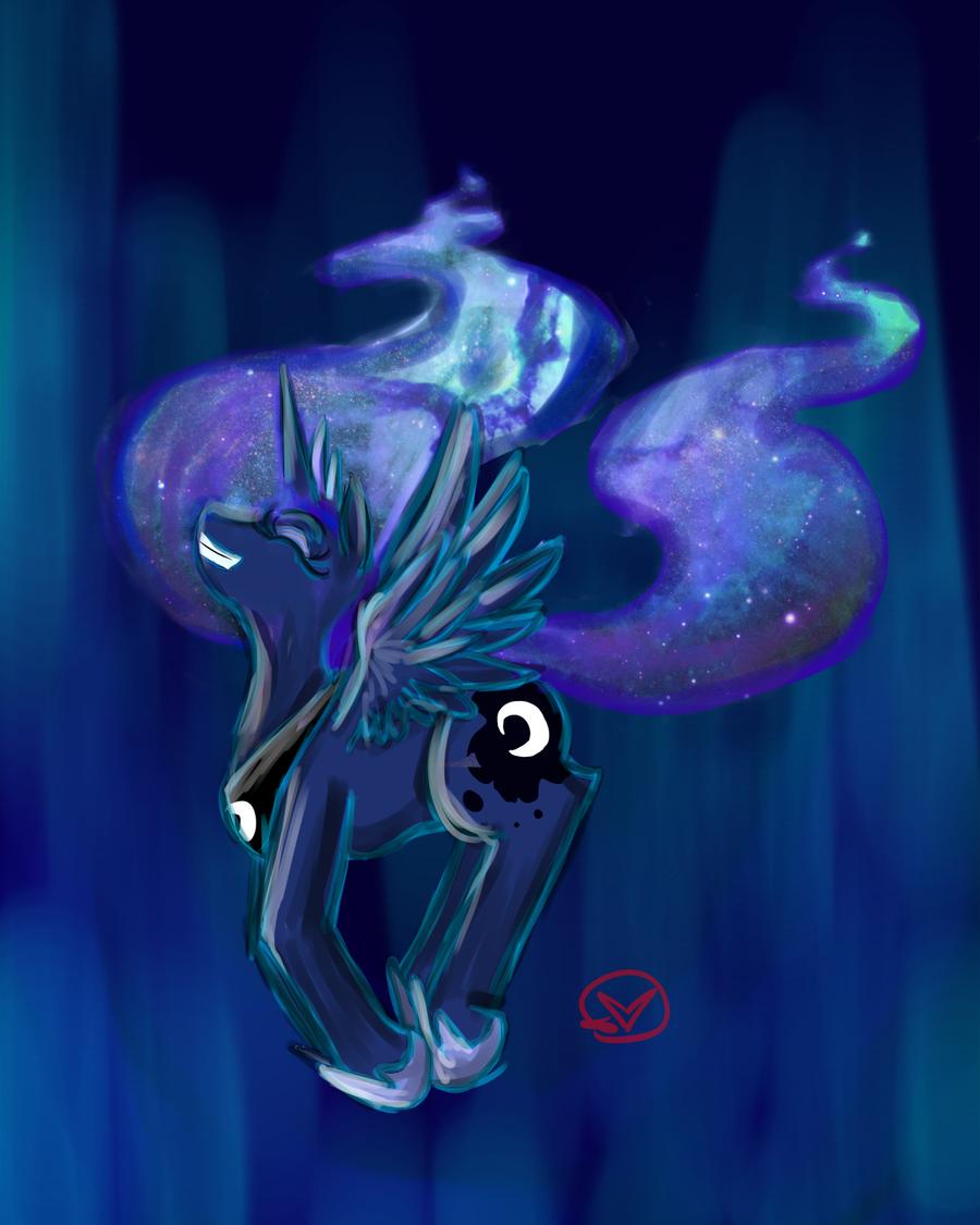 Princess Luna by RyuRedwings