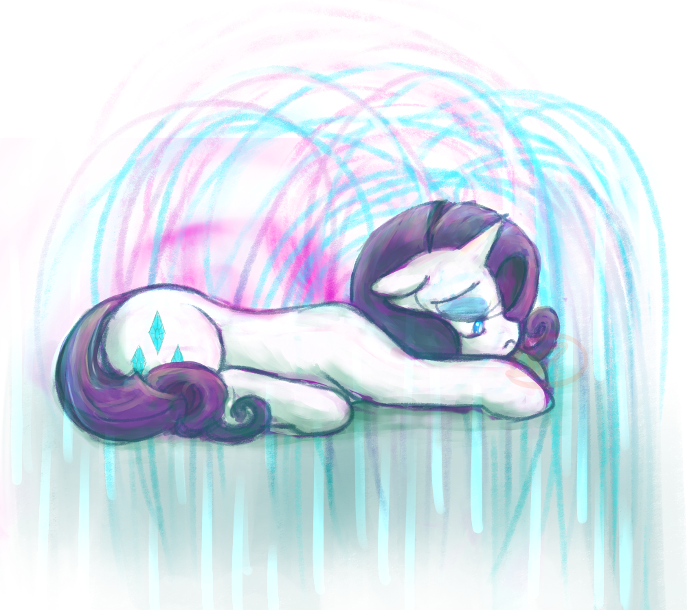 Sad Pone #2 by RyuRedwings
