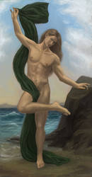 Elgalion after Bouguereau by flabbergastingdragon