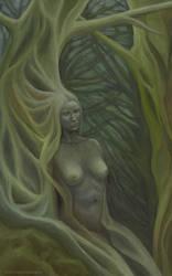 Woman Tree by flabbergastingdragon