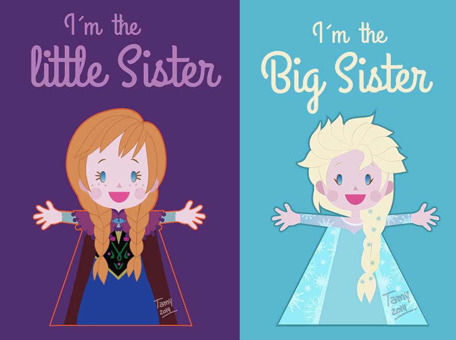 Frozen: Sisters by tamarushka