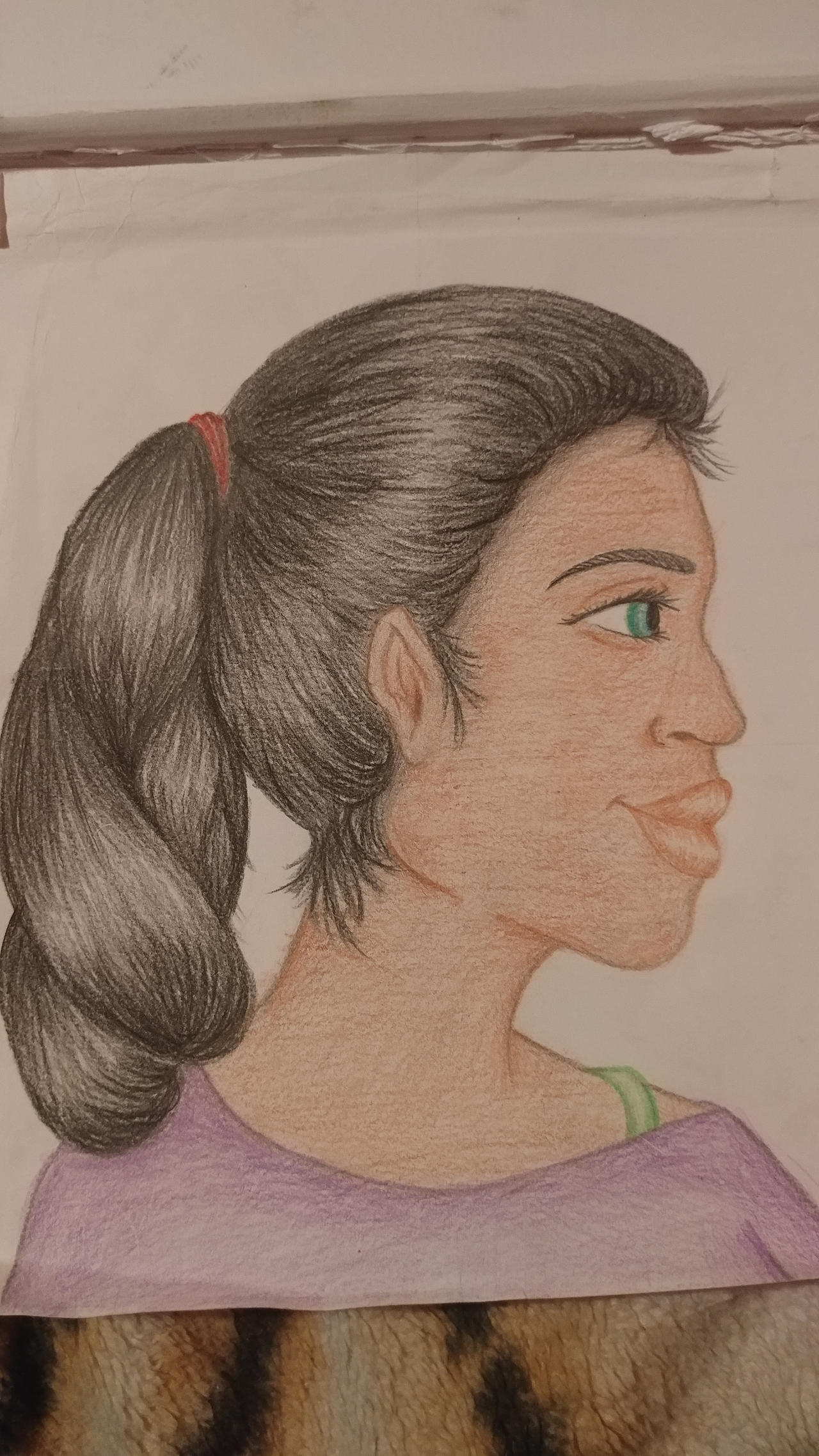 Side Profile Face Female By Xxccdrawsxx On Deviantart