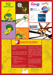 These are My Few Jobs with Name, Halocalizer by BangYan