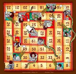 Snakes and Ladders of Creativities