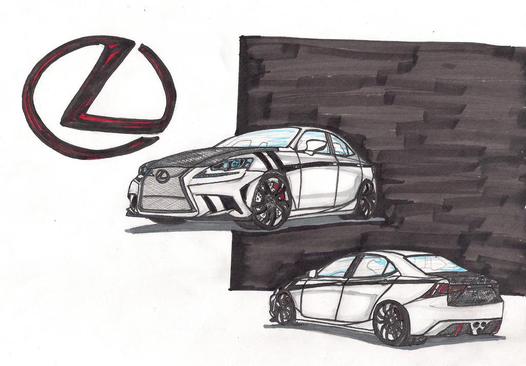 Lexus ISF by nemslik