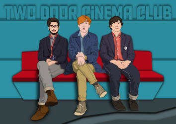 Two Door Cinema Club by pencil-addict