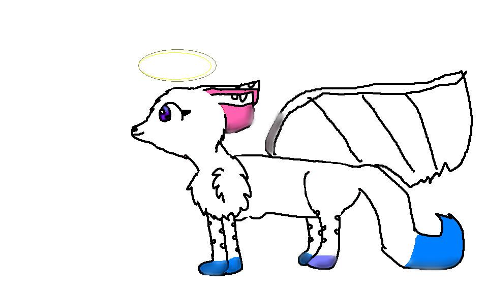 Karael as a Dog by Karael444