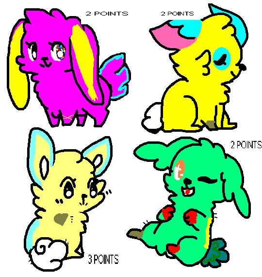 Bunny adopts by Karael444