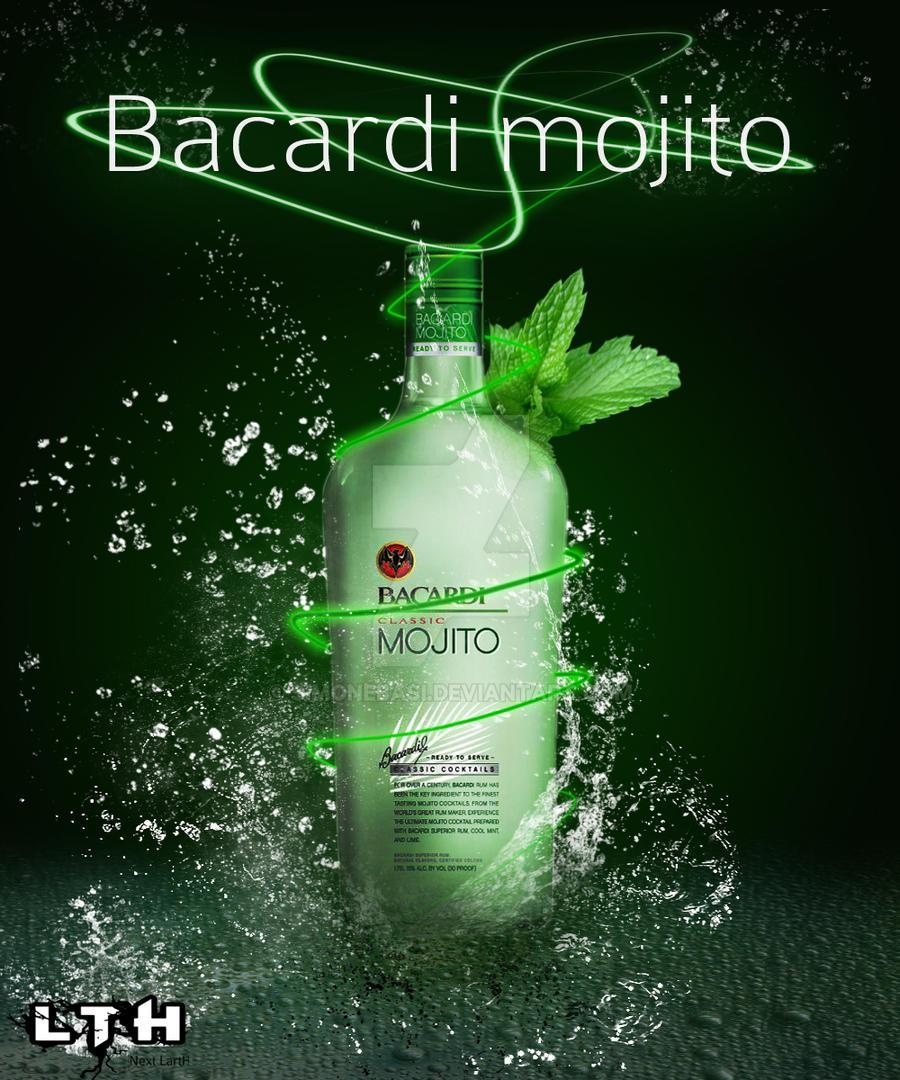 bacardi mojito by simonebasi on deviantart