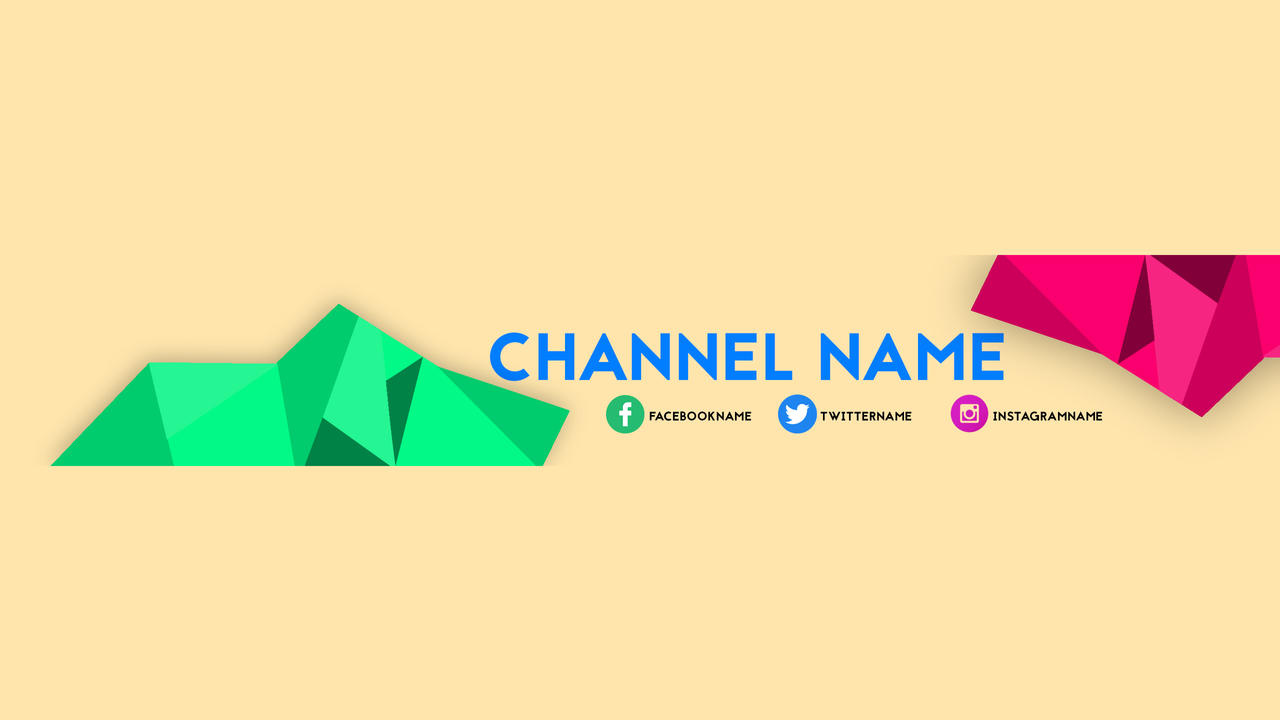 Fine Youtube Template Banner Pictures Inspiration - Example Resume ...
