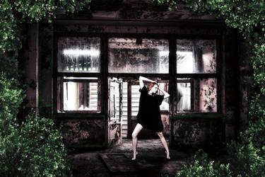 Urbex Girl by Flegmatik95