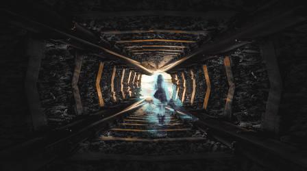 RailGirl by Flegmatik95