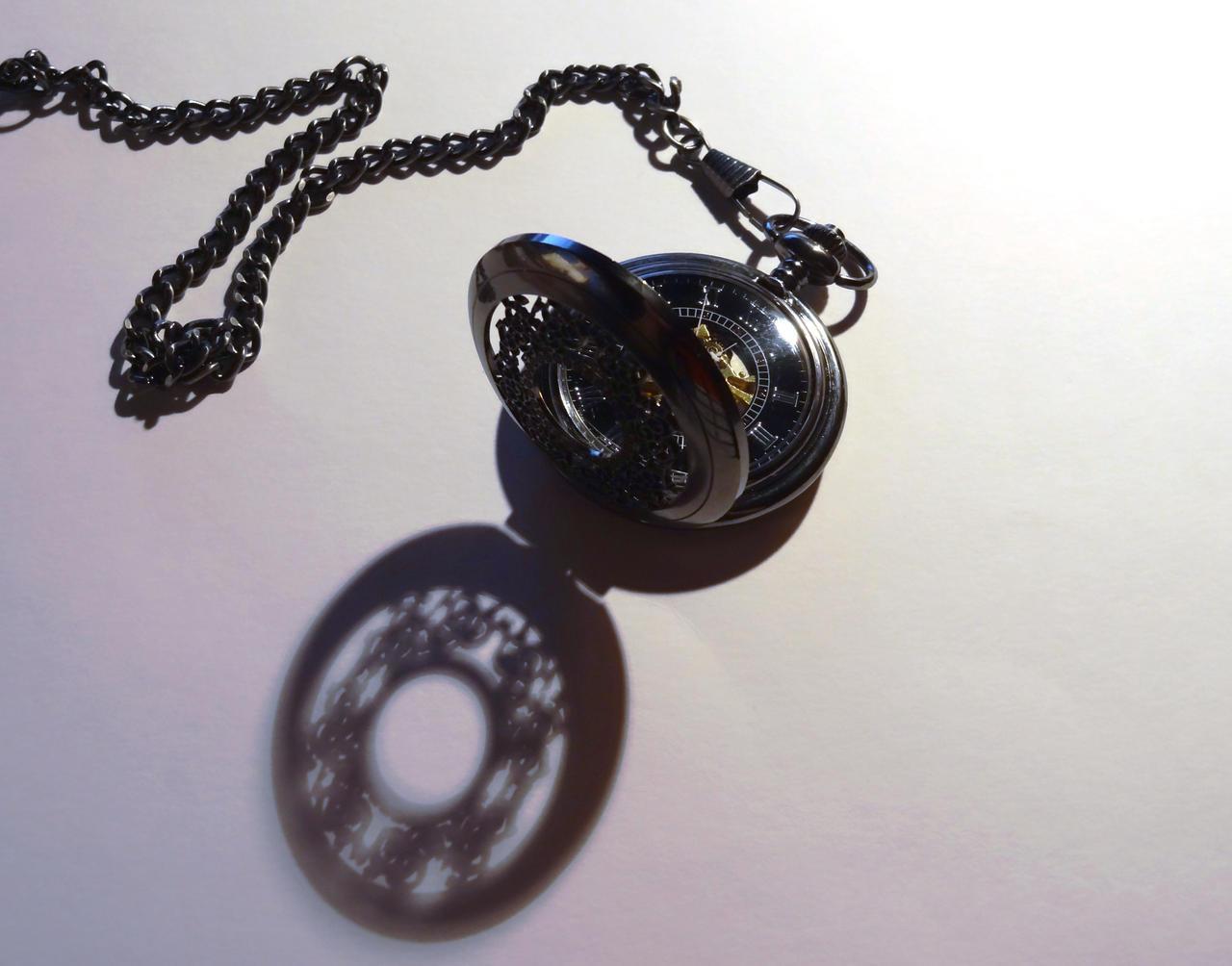 Pocket Watch (Open) by DarkShadowfax