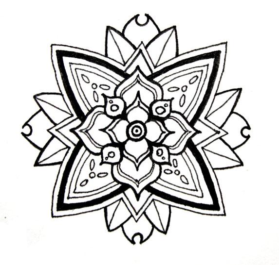 Flower Mandala by the3rdplanet