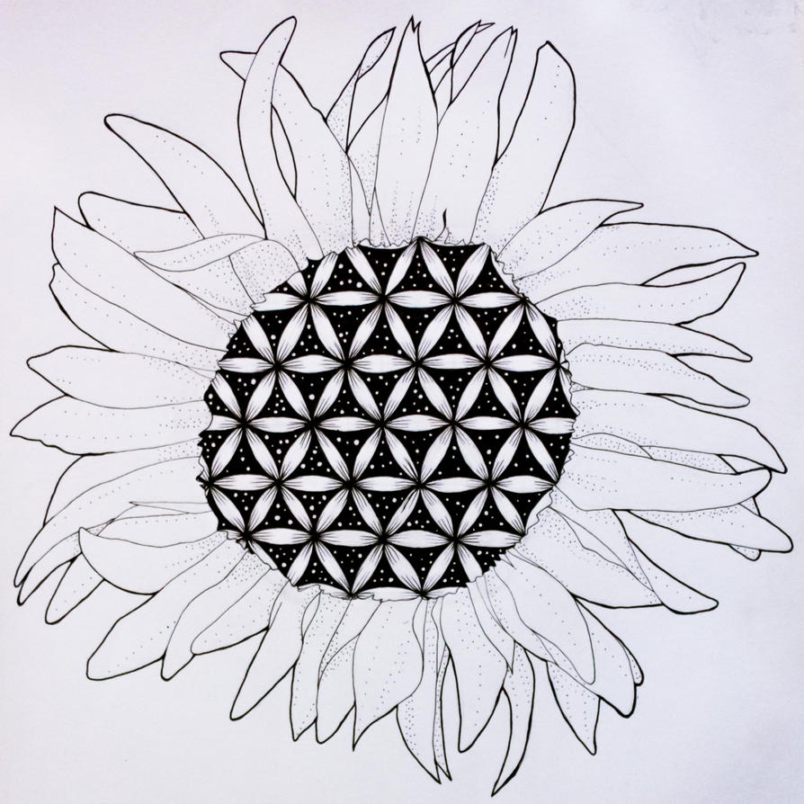 Sunflower of Life by the3rdplanet