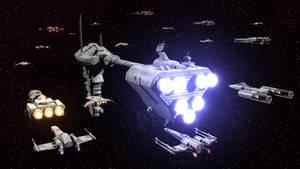 small rebel fleet by fj4 d4jnskl