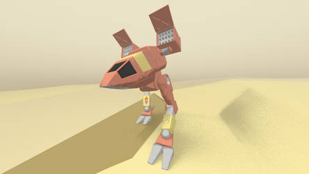 Dark Fox Catapult - Cel Shade by FJ4