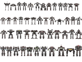 Inner Sphere Mech List by FJ4