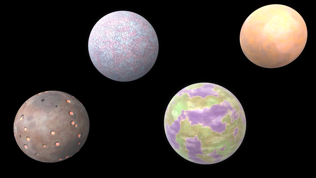 Assorted Planets by FJ4