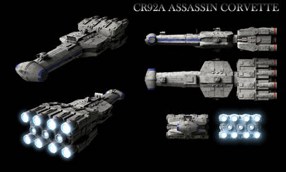 CR92A Assassin Corvette
