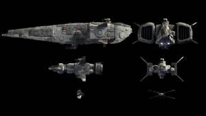SciFantasy Ships Scale