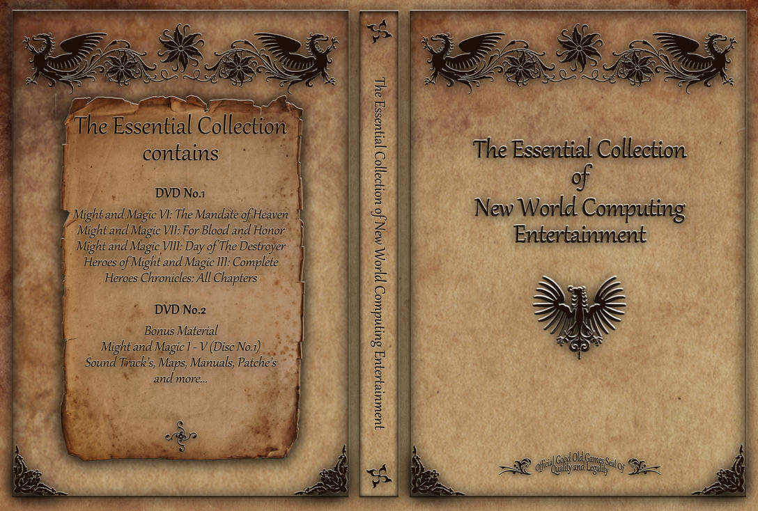 Might And Magic Collection by RicardasSteckas