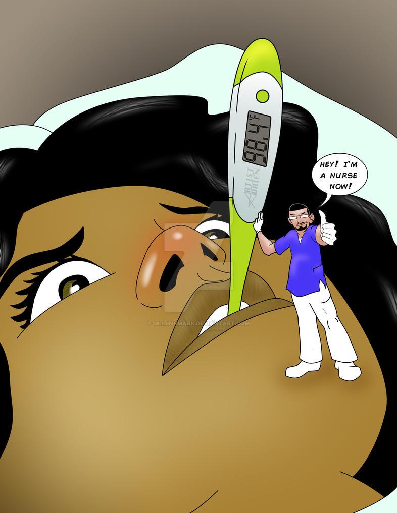 I'm A NURSE Now! by glidingmark