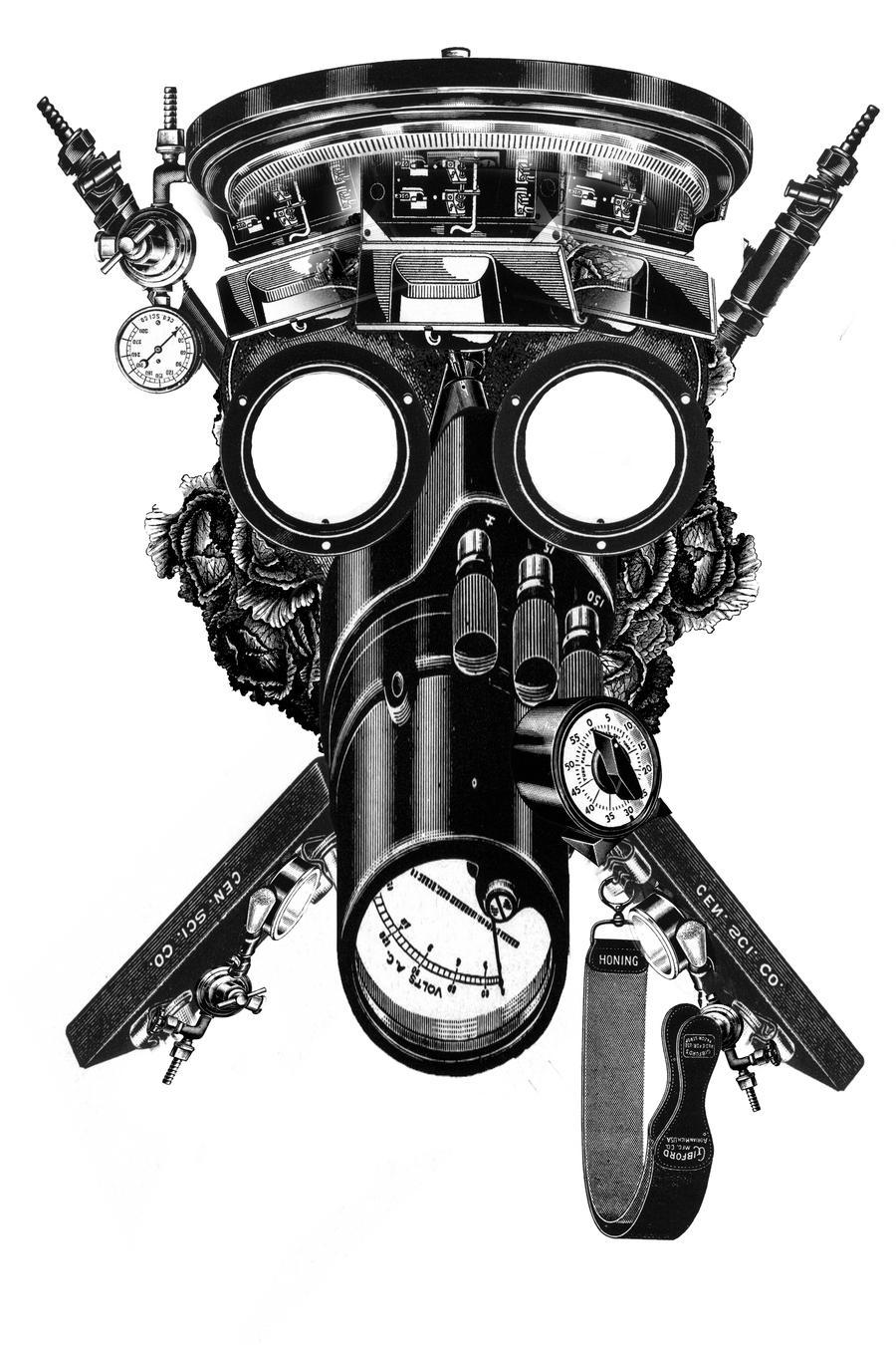 Registro de Máscaras - Página 2 Gas_mask_dude_by_megazombiequeen-d4e0buo