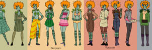 16 Outfits