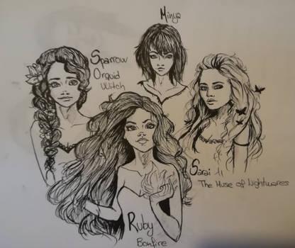 Goddesses Mesarthim