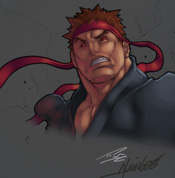 Evil Ryu: Alvin Lee by Nubry