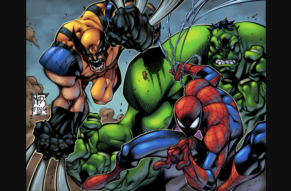 Marvel Heroes 2: Joe MAD by Nubry