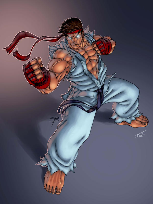 Ryu: Fooray by Nubry