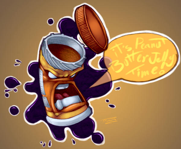 Peanut Butter Jelly Time: twei