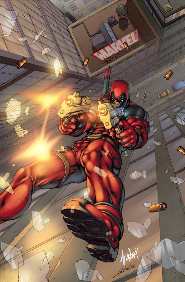 Deadpool: Alvin Lee by Nubry