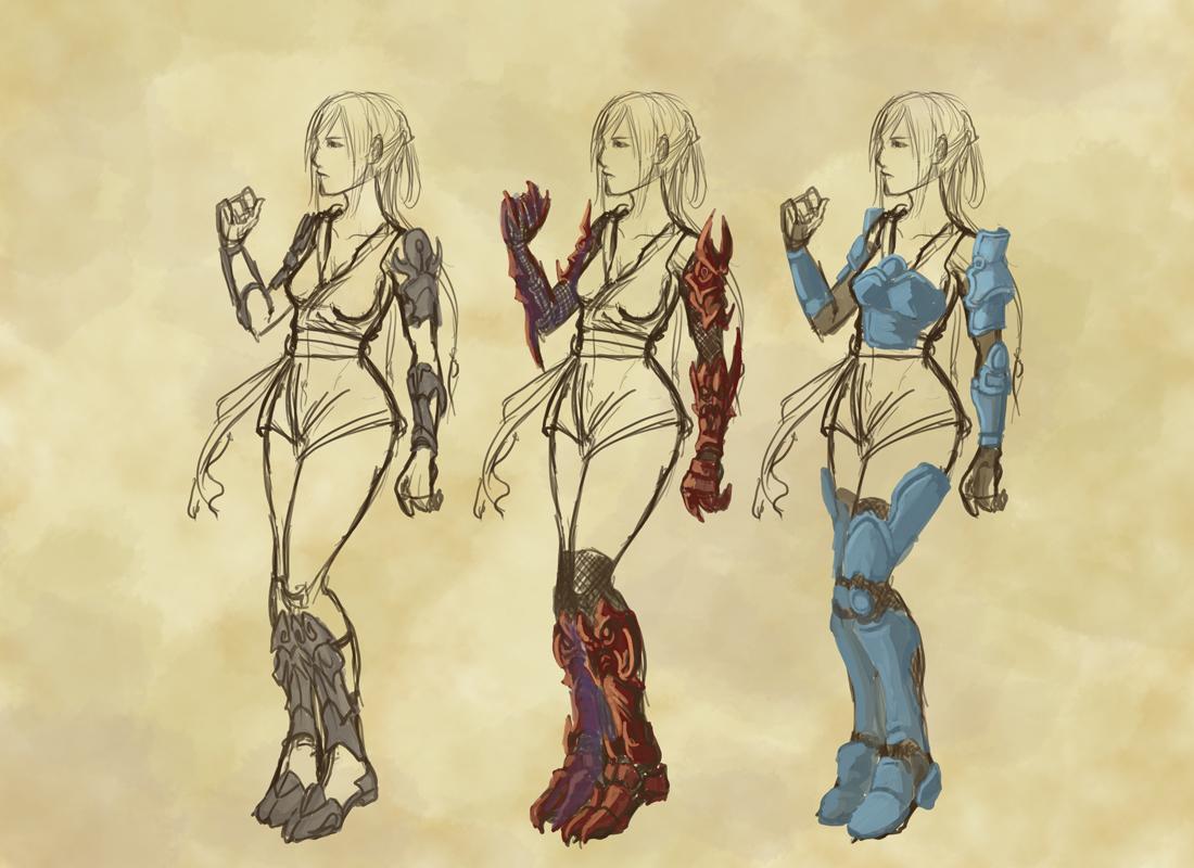 Akastar - Armor Concept by shanku