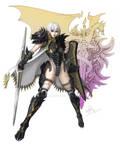 Black Dragon Knight ver.f