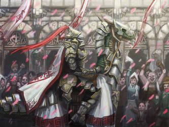 Dragon Crusader by shanku