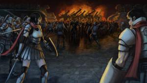 Band of Fiery Hope by shanku